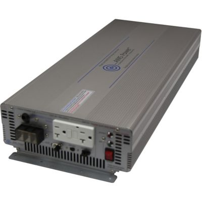 Buy AIMS Power 3000W Pure Sine Power Inverter; 12VDC to 120VAC; Industrial Grade Online