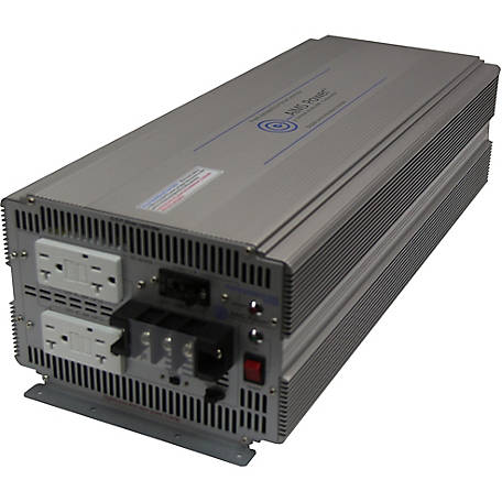 AIMS Power 5000W 12V Pure Sine Inverter, Industrial Grade