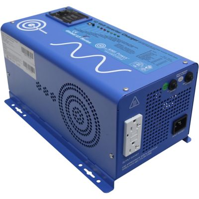 Buy AIMS Power 1000W Pure Sine Inverter Charger; 12VDC to 120VAC Online