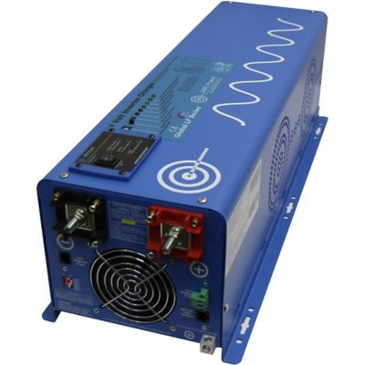 Buy AIMS Power 4000W Pure Sine Inverter Charger; 12VDC to 120VAC Online