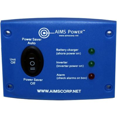 Buy AIMS Power LED Remote Panel for 1250 & 2500W AIMS Green Inverter Chargers Only Online