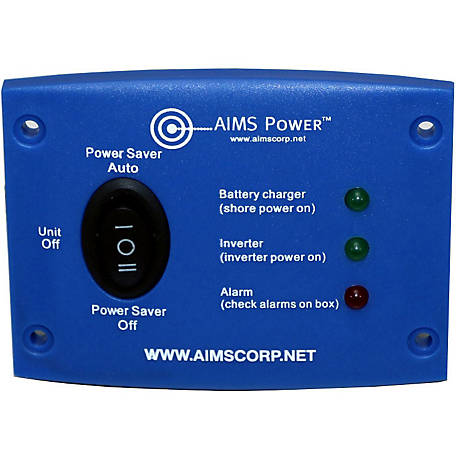 AIMS Power LED Remote Panel for 1250 & 2500W AIMS Green Inverter Chargers Only