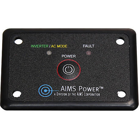 AIMS Power Flush Mount On/Off Remote Switch
