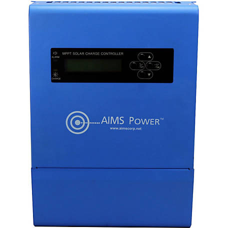 AIMS Power 40A Solar Charge Controller, 12/24/36/48 VDC MPPT