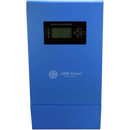 AIMS Power 100A Solar Charge Controller, 12/24/36/48 VDC MPPT