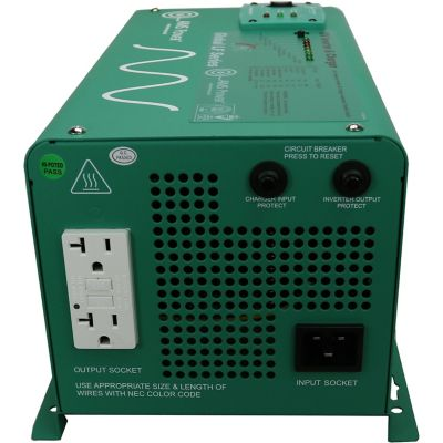 Buy AIMS Power 1250W Pure Sine Inverter Charger; 12VDC to 120VAC; Economical Online