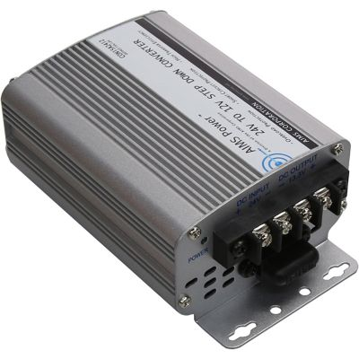 Buy AIMS Power 24VDC To 12VDC Step Down Converter; 15A Online