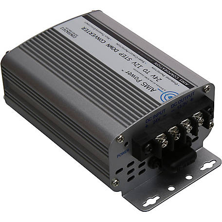 AIMS Power 24VDC To 12VDC Step Down Converter, 30A