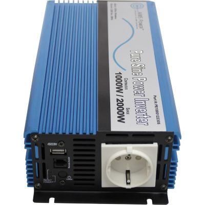 Buy AIMS Power 1000W Pure Sine Inverter; 12VDC to 220/230VAC; European Online