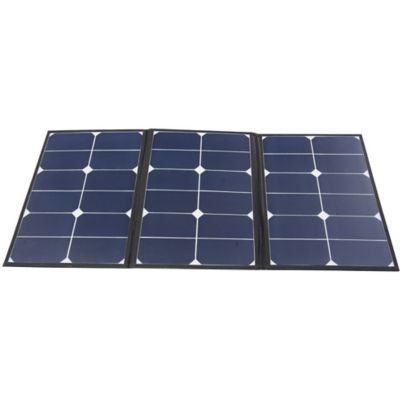Buy AIMS Power 60W Monocrystalline Portable Foldable Solar Panel with Carrying Case Online