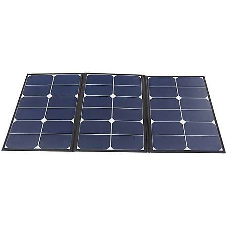 AIMS Power 60W Monocrystalline Portable Foldable Solar Panel with Carrying Case