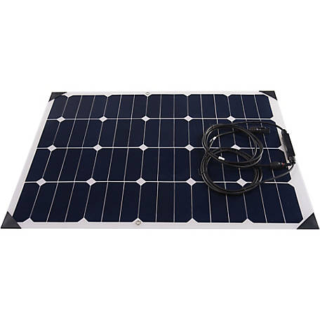 AIMS Power 60W Monocrystalline Flexible Bendable Slim Solar Panel