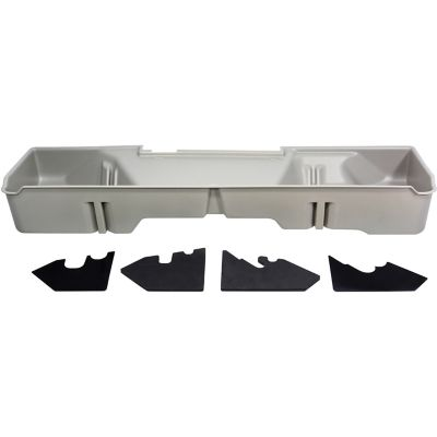 Buy Du-Ha Storage Container for 07-13 Chevrolet/GMC Silverado/Sierra Extended Cab; Light Gray; 10046 Online