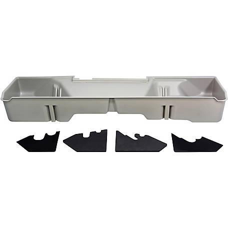Du-Ha Storage Container for 06-07 Chevrolet/GMC Silverado/Sierra Extended Cab, 5 ft.8 in. Extra Short Box, Light Gray, 10049