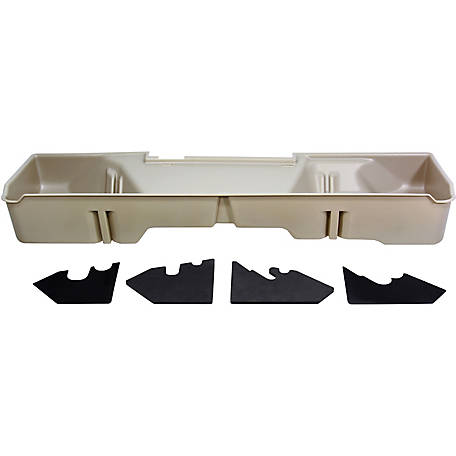 Du-Ha Storage Container for 06-07 Chevrolet/GMC Silverado/Sierra Extended Cab, 5 ft.8 in. Extra Short Box, Tan, 10050
