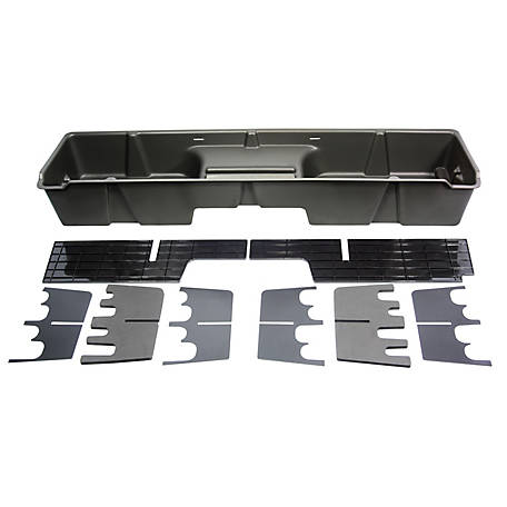 Du-Ha Storage Container for 99-07 Chevrolet/GMC Silverado/Sierra Extended Cab, Dark Gray, 10001