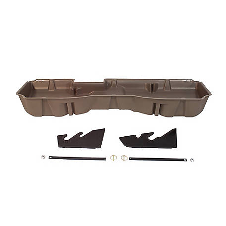 Du-Ha Storage Container for 14-18 Chevrolet/GMC Light Duty & 15-18 Heavy-Duty Crew Cab, Tan, 10302