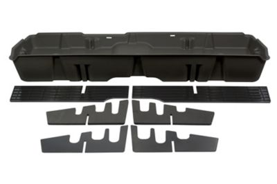Buy Du-Ha Storage Container for 07-13 Chevrolet/GMC Light Duty & 07-14 Heavy-Duty Crew Cab; Dark Gray; 10042 Online