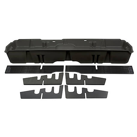 Du-Ha Storage Container for 07-13 Chevrolet/GMC Light Duty & 07-14 Heavy-Duty Crew Cab, Dark Gray, 10042