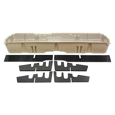 Du-Ha Storage Container for 07-13 Chevrolet/GMC Light Duty & 07-14 Heavy-Duty Crew Cab, Tan, 10044