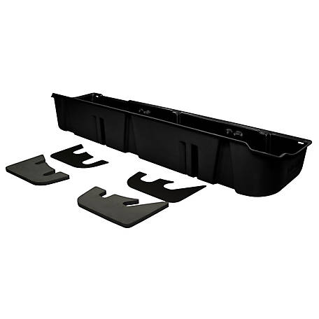 Du-Ha Storage Container for 09-14 Ford F-150 SuperCrew (Fits with Factory Subwoofer), Black, 20078