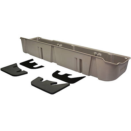 Du-Ha Storage Container for 09-10 Ford F-150 SuperCrew (Fits with Factory Subwoofer), Gray, 20079
