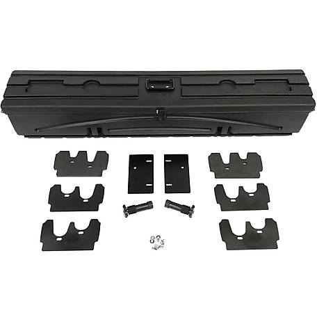 Du-Ha All Terrain Gun Rack, Fits Polaris Ranger Full Size with 54 in. W Box, and Bobcat UTV, Black, 70400