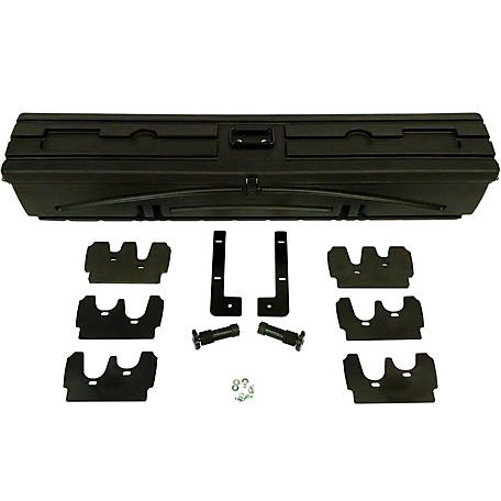Du-Ha All Terrain Gun Rack, Fits Polaris Ranger Mid-Size with 42 in. W Box, Black, 70401