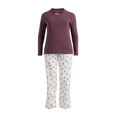 Blue Mountain Women s Chick Flannel Pajama Set at Tractor Supply Co. 1437bac4f