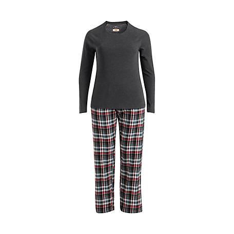 e2b6f63e53 Blue Mountain Women s Plaid Flannel Pajama Set - 1319775 at Tractor ...