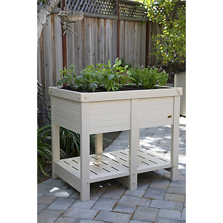 New Age Pet, ECOFLEX Elevated Planter- 36 in., EPEP303-R36