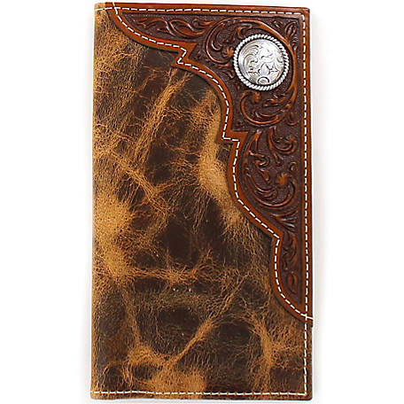 Ariat Rodeo Wallet with Corner Overlay & Concho