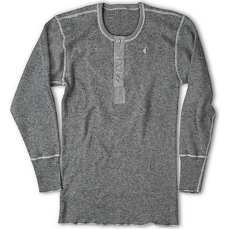 Stanfield's Men's Heavy Weight Rib Knit Henley Shirt