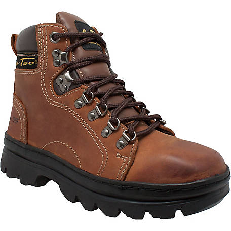 AdTec Women's 6 in. Brown Work Hiker