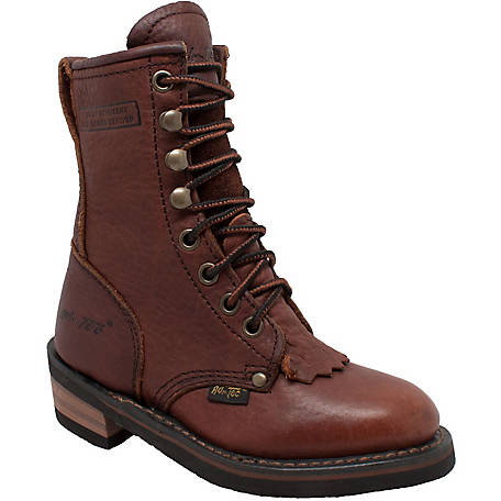 AdTec Kid's 7 in. Brown Packer Boot