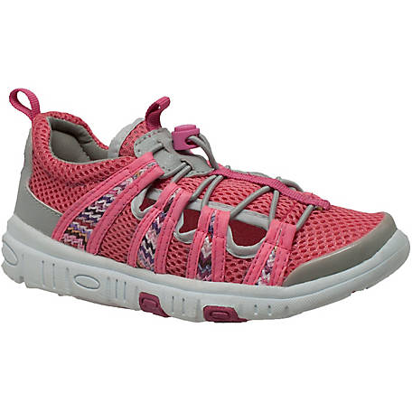Rocsoc Toddler's 1 in. Pink/Gray Water and Land Sporting Shoe