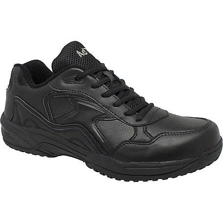 AdTec Women's 3 in. Black Composite Toe Lace Up Uniform Athletic