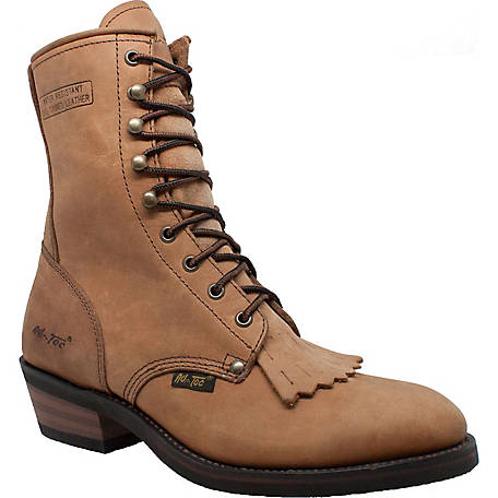 AdTec Men's 8 in. Brown Packer Boot