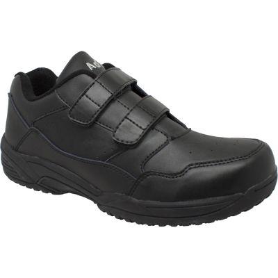 Ad Tec Mens 9635 Uniform Athletic Velcro Black Work Shoe