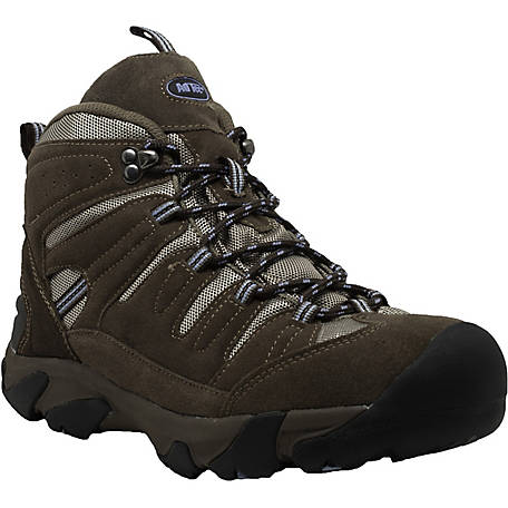 AdTec Women's 6 in. Brown Composite Toe Work Hiker Boot