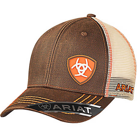 Ariat Men s Oilskin Cap with Offset Logo at Tractor Supply Co. c11da8d4e5b