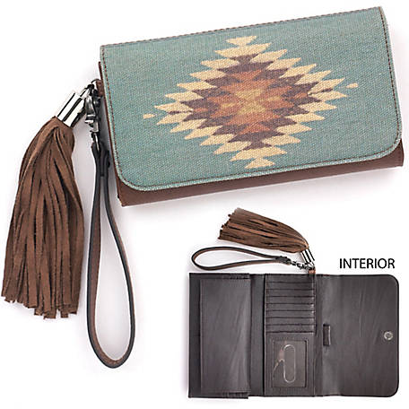 Blazin Roxx Zapotec Clutch Wallet