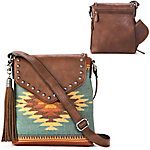 Blazin Roxx Zapotec Messenger Bag