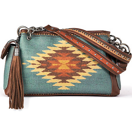 Blazin Roxx Zapotec Satchel Bag
