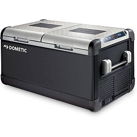 Dometic CFX95DZW 12V Electric Powered Cooler, Dual Zone Fridge Freezer