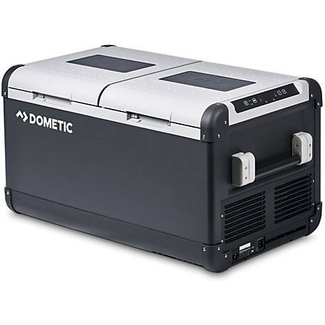 Dometic CFX75DZW 12V Electric Powered Cooler, Dual Zone Fridge Freezer