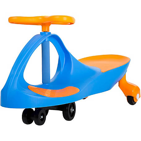 Lil Rider Wiggle Car Ride On Blue And Orange At Tractor Supply Co