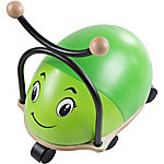 Happy Trails Ride-on Roller Rider Bug with Cushioned Seat, Green