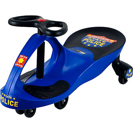 Lil' Rider Police Car Ride-On, Wiggle Car