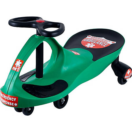 Lil' Rider Ambulance Ride-On Wiggle Car